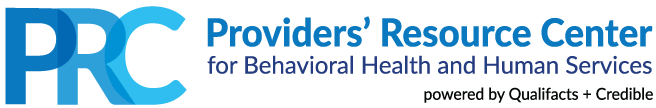 Providers' Resource Center for Behavioral Health and Human Services - powered by Qualifacts and Credible